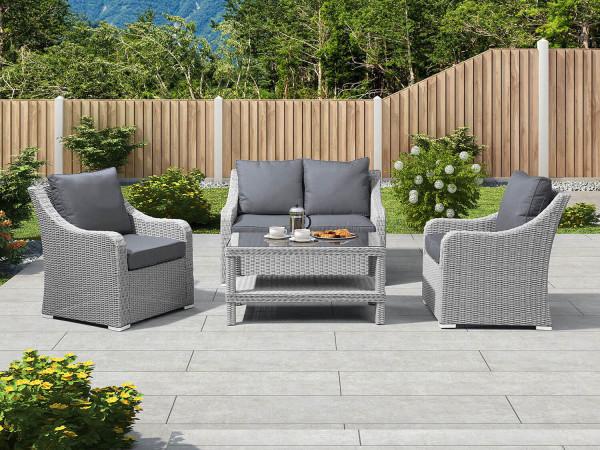 Heritage Harper Sofa Set - White Chimes