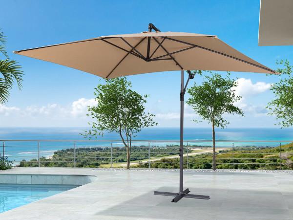 Chimes Barbados Cantilever Parasol - 3m x 2m Rectangular