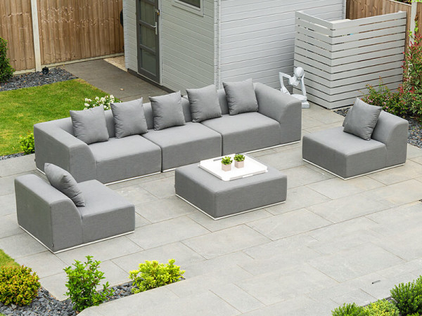 Buddha Sofa Set with Footstool